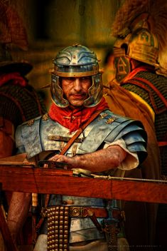 Legionary in band armor