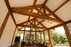Trusses and roofs with restricted height - Oakmasters