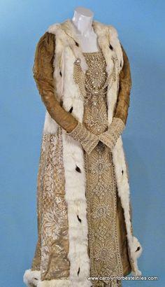 Fancy winter robe