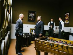 The Groom Cottage at Leoness Cellars is a great one! You and your groomsman will have a fun yet relaxing time preparing for your big walk down the aisle! #LeonessWeddings
