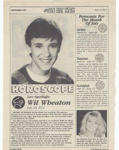 Teenage Wil Wheaton | Posted 6 months ago
