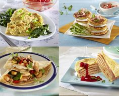 Palačinky 8x jinak Mille Crepe, Crepes, Quiche, Pancakes, Tacos, Pizza, Baking, Drinks, Ethnic Recipes