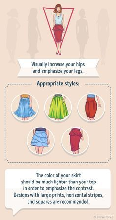 Skirts for a Inverted triangle body shape. V Shape Body, Triangle Body Shape, Shape Of Your Body, Inverted Triangle Outfits, Inverted Triangle Body, Mode Chic, Mode Style, Fashion Mode, Skirt Fashion