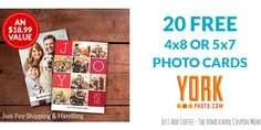 JustAddCoffee- The Homeschool Coupon Mom : 20 FREE 4x8 or 5x7 Photo Cards! {plus 40 Free 4x6 ...