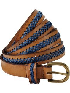Leather belt | Belts | Woman Clothing at Scotch & Soda