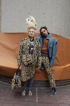 Discover Vivienne Westwood's Fall Winter advertising campaign captured by fashion photographer Juergen Teller. Vivienne Westwood, Fashion Week, Winter Fashion, Male Fashion, Fashion Styles, God Save The Queen, Jordan Barrett, Sam Mcknight, Juergen Teller