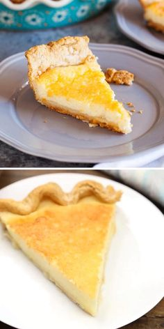 Looking for the best homemade pie recipe? Try this Amish Buttermilk Pie! This simple dessert recipe has a smooth, melt-in-your-mouth custard filling and a perfectly flaky crust. It's completely addicting! Save this recipe. Buttermilk Dessert Recipes, Buttermilk Pie, Amish Recipes, Pie Recipes, Baking Recipes, Pimento Cheese Recipes, Simple Dessert, Custard Filling, Homemade Pie