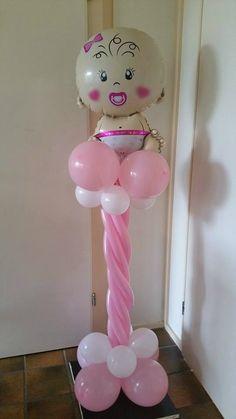 Balloon Colum #babyshower