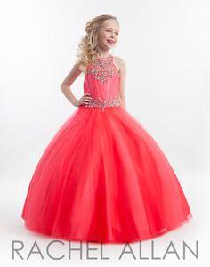 db0d6d8176aa Rachel Allan Perfect Angel Girls Pageant Dresses, Red Flower Girl Dresses,  Bridal Dresses,
