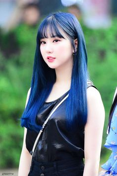 Photo album containing 10 pictures of Eunha Kpop Girl Groups, Korean Girl Groups, Kpop Girls, Pretty Asian, Beautiful Asian Girls, Korean Beauty, Asian Beauty, Gfriend And Bts, Kpop Hair Color