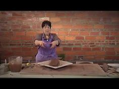 (217) How to Make a Freeform Handbuilt Serving Tray with a Faux Foot | GAIL KENDALL - YouTube