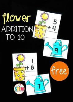 Building up number sense and fact fluency is something that takes time and practice. But all of that hard work certainly doesn't have to be boring! This flower addition to ten match is a fun way to work on addition facts in math centers, small groups, and even individual play this spring. Flower Addition to 10 Prepping this fun addition game was simple and took