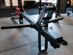 The JˣSquat™ Low Bridge Package includes Low Bridge JˣSquat Anchor Bar, Single Jammer Arm (no handle), and JˣSquat w/ Belt Squat Belt + Speed Hook. Add on to your Low Bridge to maximize space in your facility. Commercial Fitness Equipment, Home Gym Equipment, No Equipment Workout, Diy Home Gym, Gym Room At Home, Trx Gym, Total Gym Workouts, Squat Machine, Mini Gym