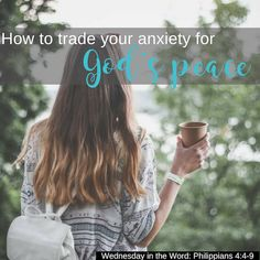How can God meet us when we are anxious and stressed? Let these Bible verses encourage you to leave your stress and anxiety at His feet and take up His peace instead. What a trade!