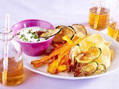 Einweihungsparty - lecker feiern im neuen Zuhause - gemuesechips-dip  Rezept
