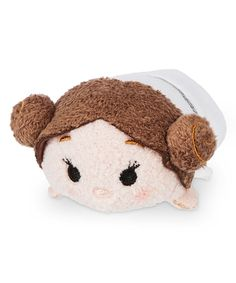 This Disney Tsum Tsum Star Wars Princess Leia Plush by Tsum Tsum is perfect! #zulilyfinds