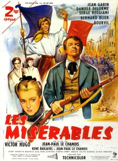"""Les Miserables (1958)  This film was dubbed the """"most memorable film version"""" to date."""