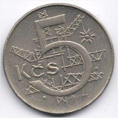 Czech Slovak Federal Republic 5 Korun 1991 Kremnica Veiling in de Overigen,Europa (niet of voor €),Munten,Munten & Banknota's Categorie op eBid België