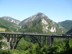 The Bridge over Tara River Canyon - Most na Đurđevića Tari - National Park Durmitor - UNESCO