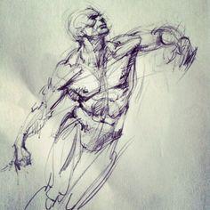 quick sketch from imagination - ferhat edizkan