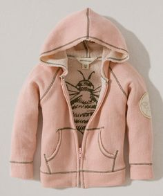 Another great find on #zulily! Peony Rose Organic Zip-Up Hoodie - Infant by Burt's Bees Baby #zulilyfinds
