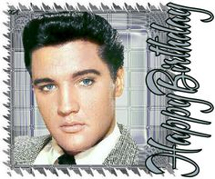 Photo by Catwoman Mija Elvis Presley's Birthday, Happy 75th Birthday, Birthday Posts, Birthday Quotes, Birthday Cards, Birthday Ideas, Memphis Mafia, Elvis Presley Photos, Happy B Day