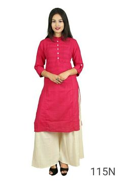 5be539fe555 Pink Kurti by CKJ inc - Online shopping for Kurtas on GlowRoad -