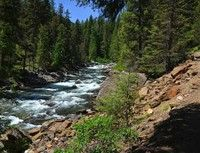 Icicle Gorge Trail Loop- A great hike for Leavenworth day trips. 4 miles, elevation gain 150ft. EASY! Northwest Forest pass required.
