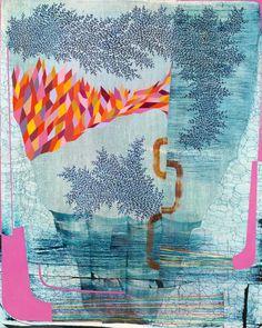 Gabe Brown - Overview | Kenise Barnes Fine Art Gabe Brown, Pink Abstract, Abstract Art, Brown Art, Art Sites, Artist Life, Summer Of Love, Abstract Landscape, Pattern Art