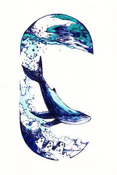 Waves, Tattoo, Artwork, Work Of Art, Auguste Rodin Artwork, Tattoos, Artworks, Ocean Waves, Tattos