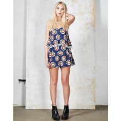 Hearts and Bows Miley Layer Playsuit   ARK Clothing #arkclothing #summer #playsuit #coords #daisy #festivalstyle