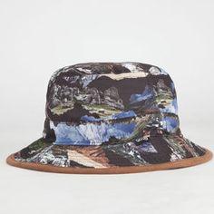 LRG Motherland Camo Mens Bucket Hat
