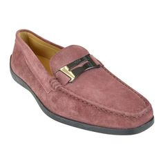 Get the must-have flats of this season! These Tod's Dusty Pink Guaina Suede Penny Loafers Flats Size US 8 Regular (M, B) are a top 10 member favorite on Tradesy. Penny Loafers, Loafers Men, Pink Suede Shoes, Dusty Pink, Loafer Flats, Zero, Oxford Shoes, Dress Shoes, Luxury Fashion