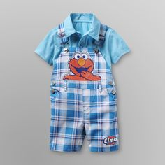 Cute Baby Clothes, Elmo, Baby Boy Outfits, Overall Shorts, Cute Babies, Overalls, Infant, Men Casual, Rompers