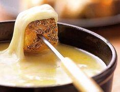 Como hacer una riquisima fondue de queso