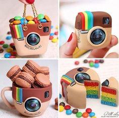 Instagram Cakes!! So cute <3