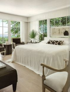 Pindler's Belgian Linen can be seen in the Fall 2016 issue of Milieu magazine on page 146. Betsy Brown Interiors located in Mountain Brook, AL incorporated Pindler's Pattern 4593-Croxley for the Bed coverlet in this beautiful bedroom.  www.pindler.com