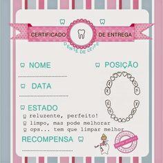 Conexão Flávia: Certificado da Fada do Dente