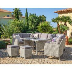 Great Helle Acamp Sofaliege Sicilia mit schwarzen Kissen Gartenm bel Pinterest