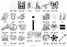 plaat i Letter I, Kids Writing, Mini, Grade 1, Spelling, School, Dutch, Study, Ideas
