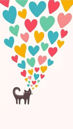 ideas wallpaper cute cat for 2019 Cute Cat Wallpaper, Iphone Wallpaper, Crazy Cat Lady, Crazy Cats, I Love Cats, Cute Cats, Gato Animal, Posca Art, Funny Wallpapers