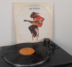 "Jimi Hendrix - Sound Track Recordings From The Film ""Jimi Hendrix"" - Vinyl Record"