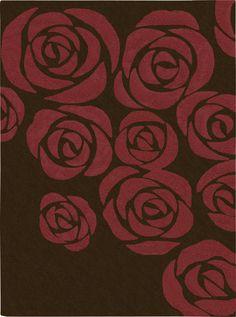 Skyland Brown/Red Rug