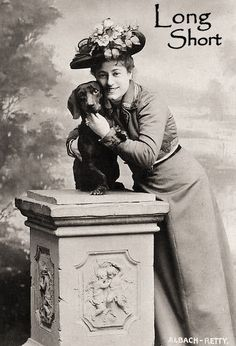 The Long and Short of it All: A Dachshund Dog News Magazine: Vintage Dachshund Pride