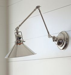 Rejuvenation Kitchen: our Reed Industrial Swing-Arm Sconce is a perfect addition above any sink or counter space