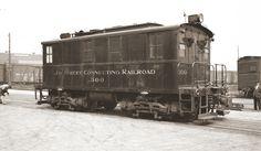 #300 - March 30, 1936 - Jay Street Yard (note: loco is black!) G. Votava photo  D. Keller archives