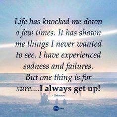 Always get up!