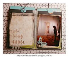 Modeling paste; album; scrapbook; Tag