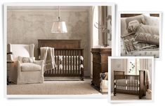 Rooms | Restoration Hardware Baby & Child. I would love this map wall in MY grownup bedroom!