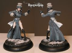 Rasputina painted grey subtle